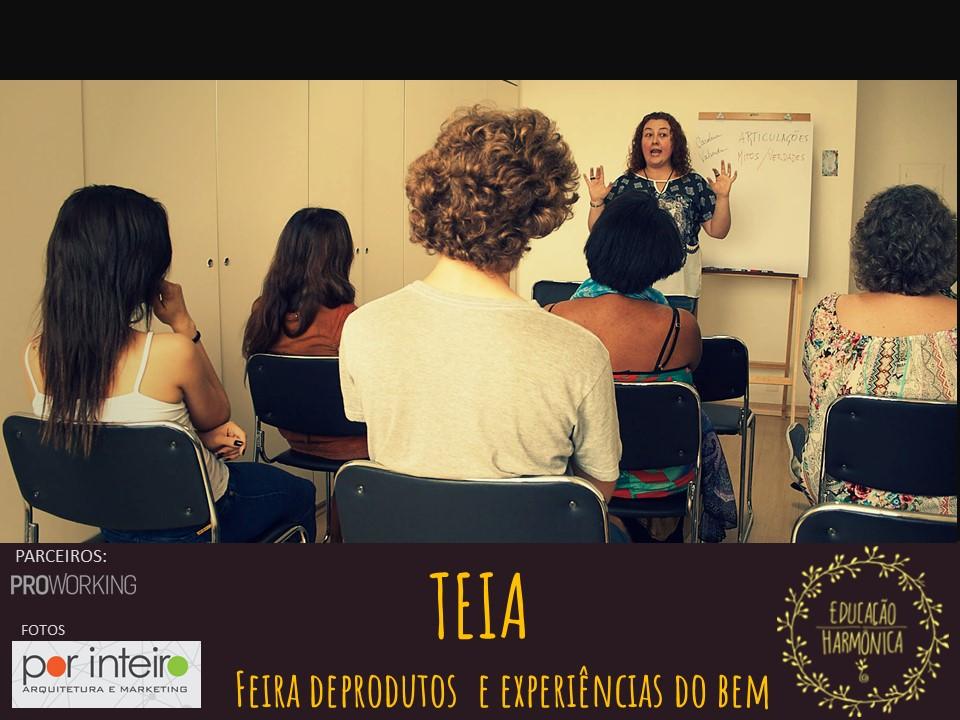 Teia. Educação Harmônica. Desenvolvimento Integral www.educacaoharmonica.com.br
