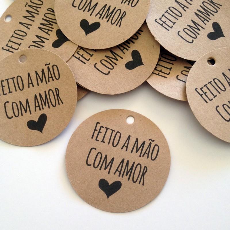 Tag de produto: Feito com amor